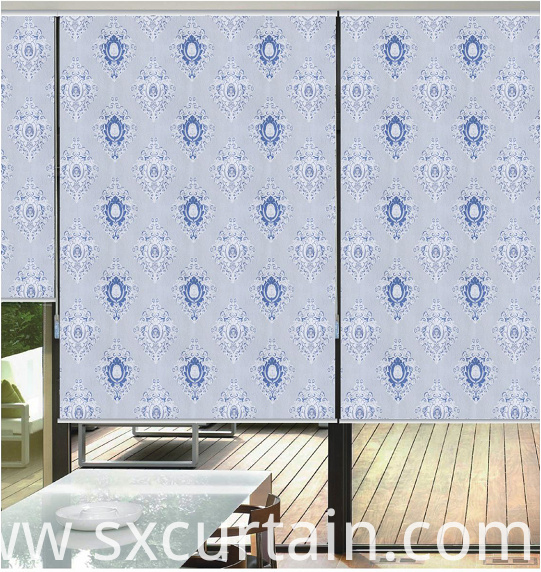 Blind Roller Shade Curtain Jacquard