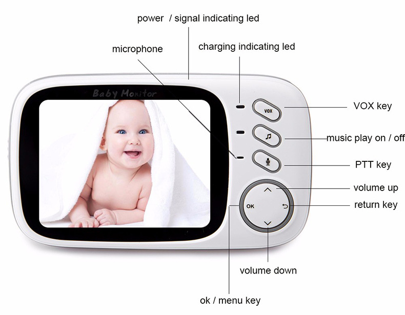 baby monitor at home