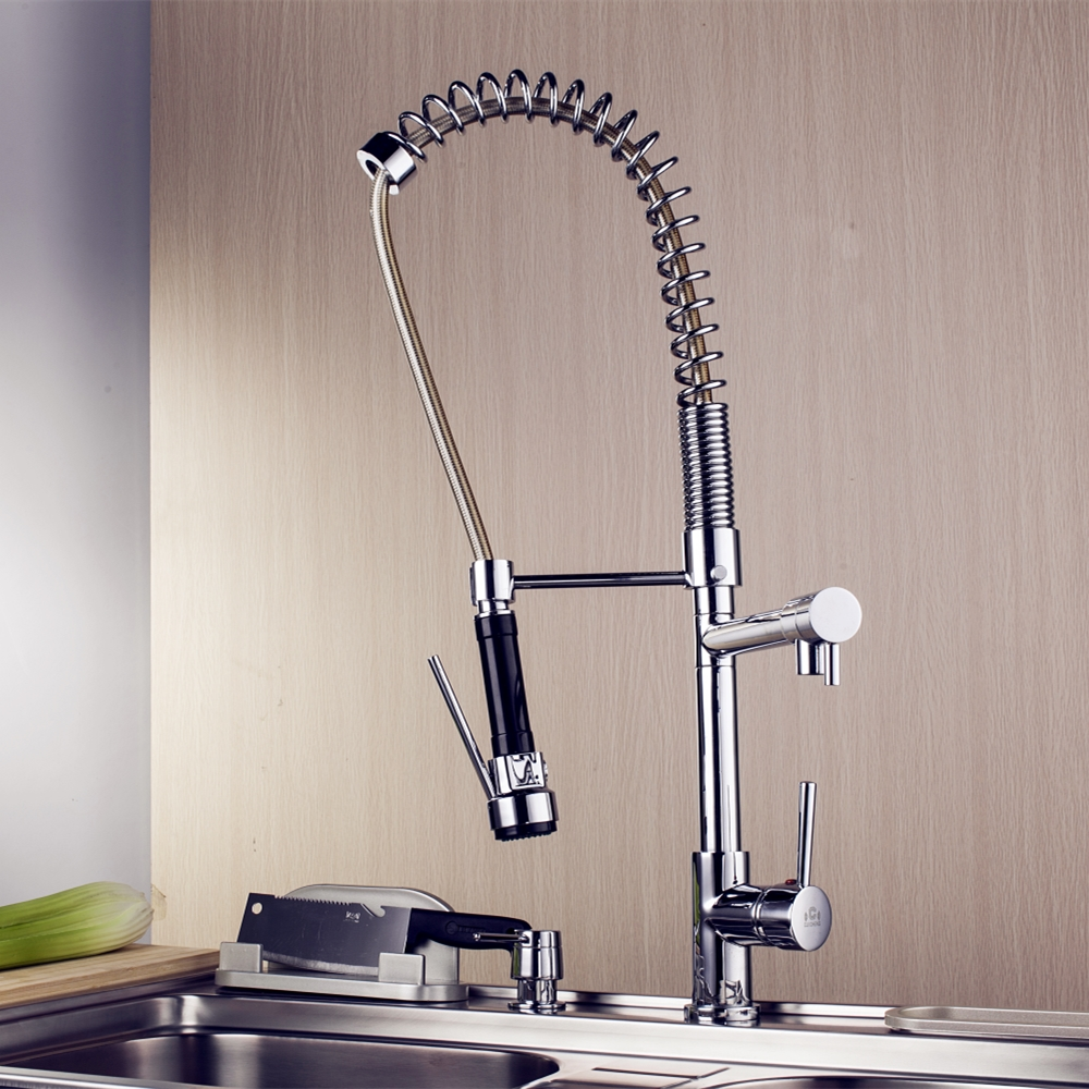 The Never-deformed Spring Faucet