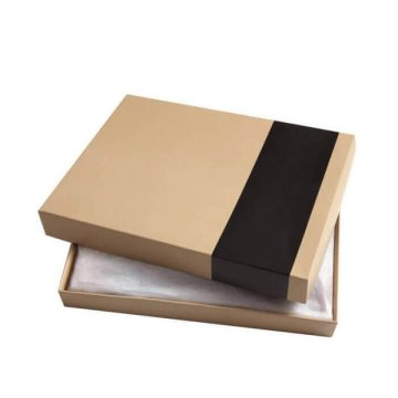 Kraft Paper Packaging For Scarf Gift Packaging