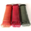 PP Cord Polypropylene Double Braided Flat Rope