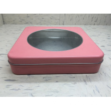 Wholesale Discount for Tin Gift Box Empty square tin cans with lids supply to Russian Federation Exporter