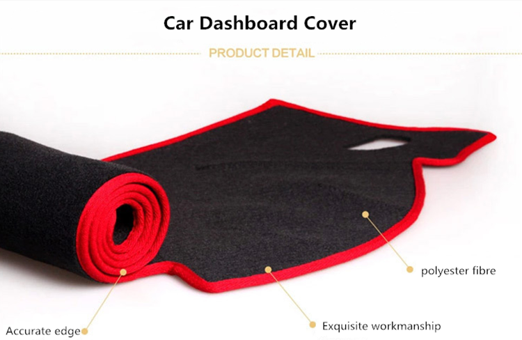 Auto Protects Car Dashboard Cover