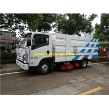 ISUZU 1500 Gallon Road Cleaning Trucks