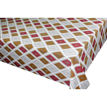 Elegant Tablecloth with Non woven backing Rental