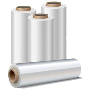 22mic*18 inch x 1000 ft new pe platic Stretch wrapping Film