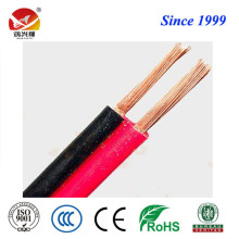 2C flat flexible twisted RVB electrical wire and cable
