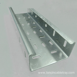 Big Discount for Tray Type Cable Tray Aluminum Alloy Perforated Trough Type Cable Tray export to China Macau Factories