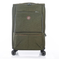 olive green nylon fabric luggage universal wheels bags