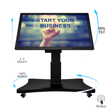 55 Inches LED Back Lighted Screen With Auto-stand