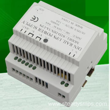 10 Years manufacturer for Din Rail Power Supply 48Vdc Din rail power UPS 12VDC 3A 5A export to France Suppliers