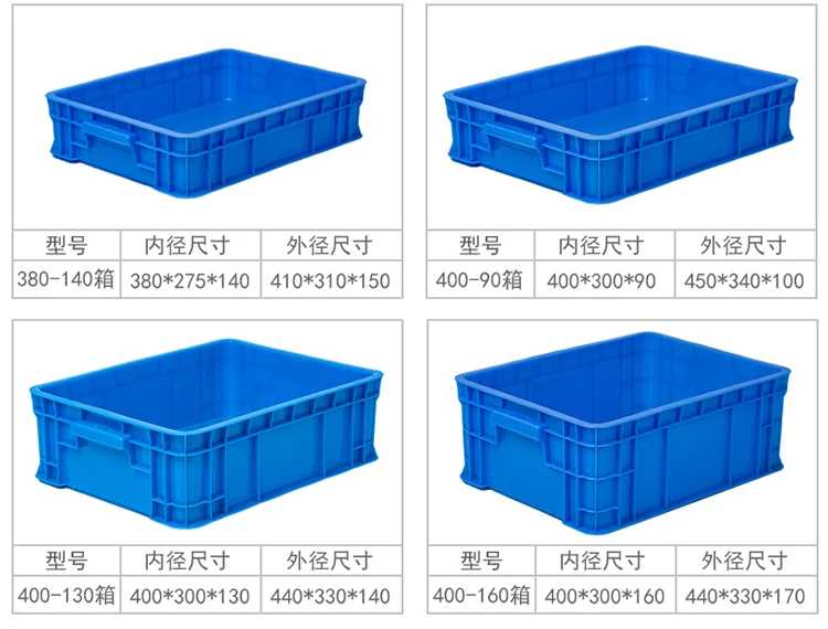 Plastic fruit box sample