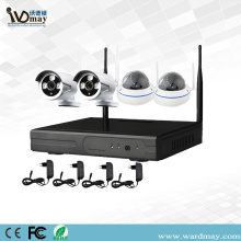 4CH 1.0/2.0MP Security Wireless Wifi NVR Kits