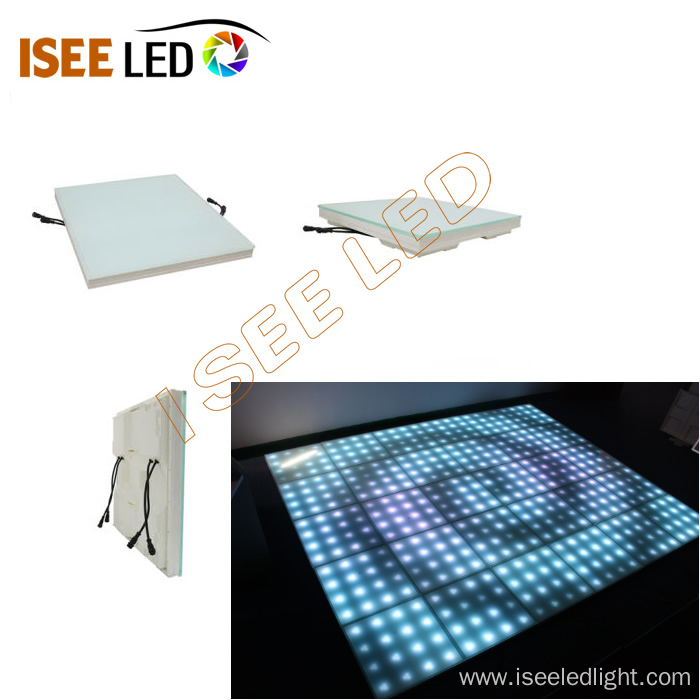Square Progrmmable LED Dance Floor Panel Light