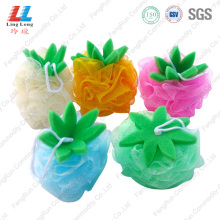 Discount Price Pet Film for Loofah Mesh Bath Sponge Pineapple Shape Exfoliating Scrub Bath Sponge supply to Armenia Factory