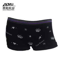 Big discounting for Sexy Womens Boxer Shorts Women Cotton Boxer Black Women Boxer Shorts Underwear export to France Manufacturer