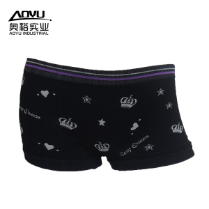 Fast delivery for for Fashion Women'S Boxer Shorts Women Cotton Boxer Black Women Boxer Shorts Underwear export to France Manufacturer