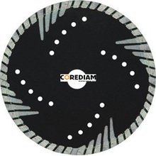 230mm Dry Granite Bevel Turbo Blade