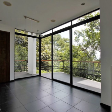 Lingyin Construction Materials Ltd aluminium framed sliding glass door  aluminum door price for nepal market