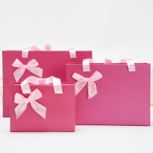 Wholesale small pink wedding gift box