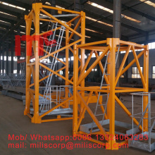 High Quality for Tower Crane Spare Parts LIEBHERR tower crane 256HC mast section supply to Belize Supplier
