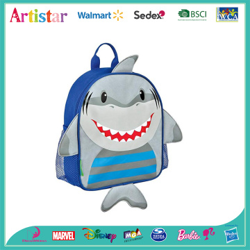 Shark blue modelling backpack