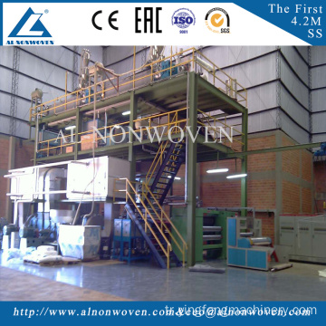3200mm SS pp spunbond nonwoven fabric making machine with new design