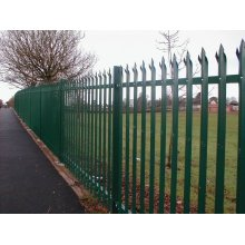 China for Palisade steel fence garden metal fence panels export to Cambodia Manufacturer