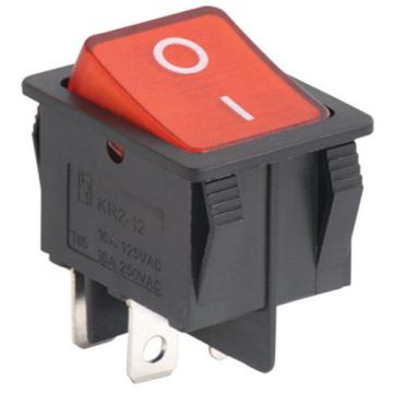 Rocker Switch with Terminal Screws