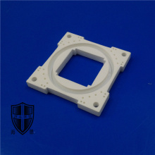 OEM manufacturer custom for White Machinable Glass Ceramic Parts micarex glass-bonded ceramics automotive aerospace export to France Exporter