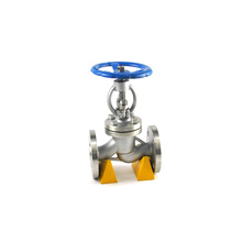 JKTL water gas oil branch pipeline use DIN bellow seal steam globe valve