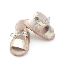 Spanish Style Wholesale Factory Shoes Girls Leather Sandals
