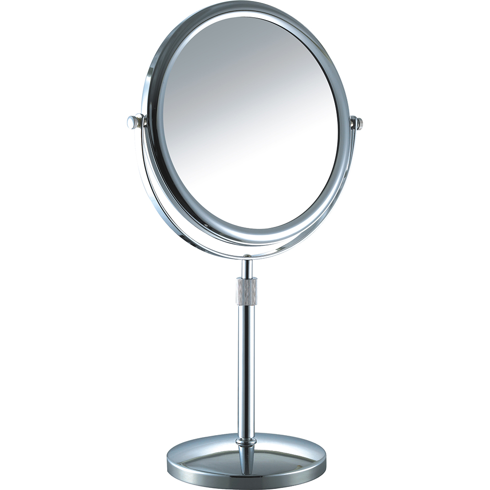 Adjustable vanity table mirror