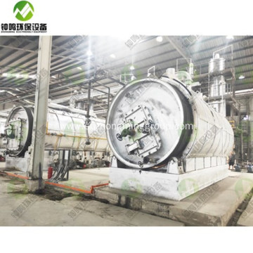 Vacuum Used Engine Oil Recycling Processing System