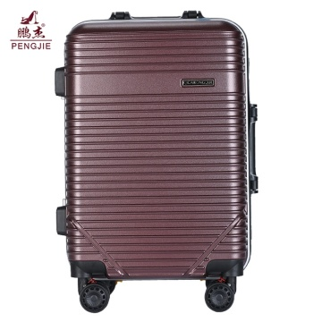 3 pieces PC+ABS trolley suitcase set for travel