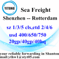 Shenzhen Gobal Ocean Freight Shipping to Rotterdam