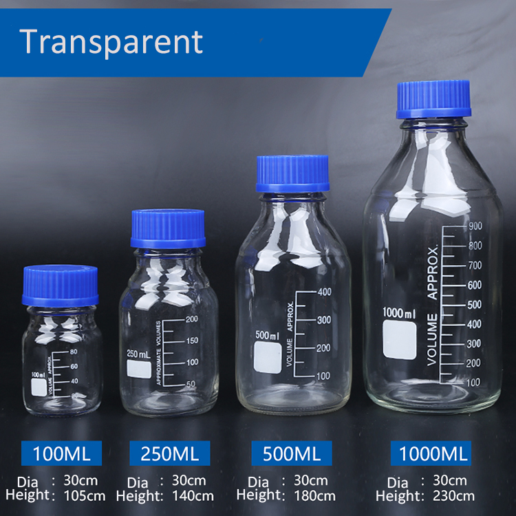 Glass Reagent Bottle 4