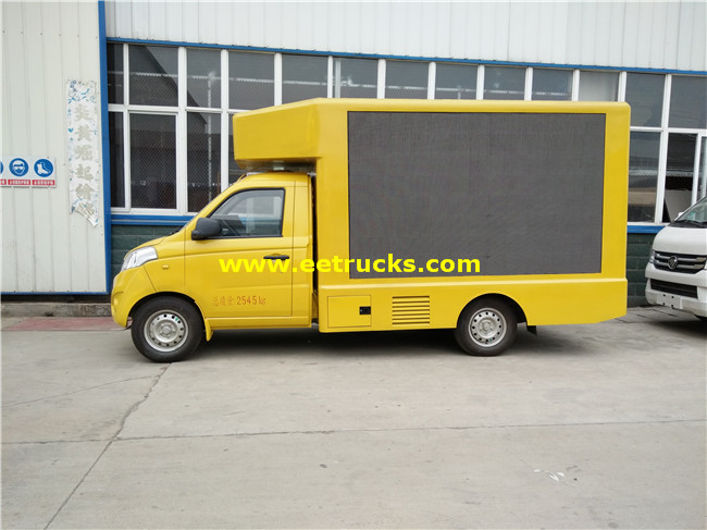 3 side P4 LED Display Trucks