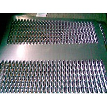 Antiskid safety grating production