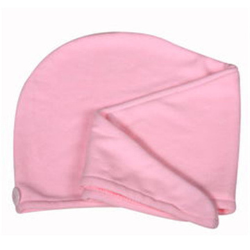 Salon Towel Coral Fleece Hair Towel Cap
