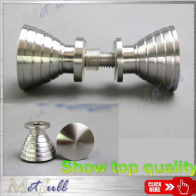 Stainless Steel Entry Rotation Solid Knobs Handle