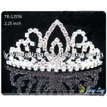 Rhinestone Crowns Wholesale Wedding Crown TR-12556