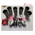 VOLVO spare parts D7E cylinder liner sleeve kit