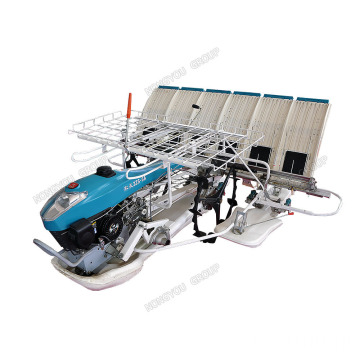 6 Rows Rice Plant Rice Planter Machine