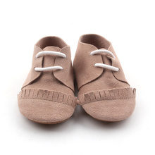 Brown Lacework Soft Sole Baby Oxford Shoes