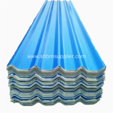 Fire Resistant Glazed Magnesium Oxide Roofing Tiles