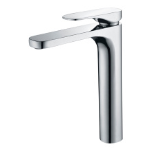 Single hole hot water faucet