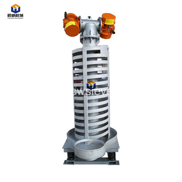 low noise vertical spiral vibration elevator.