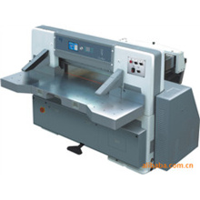 920mm program control single hydraulic single worm wheel paper cutting machine