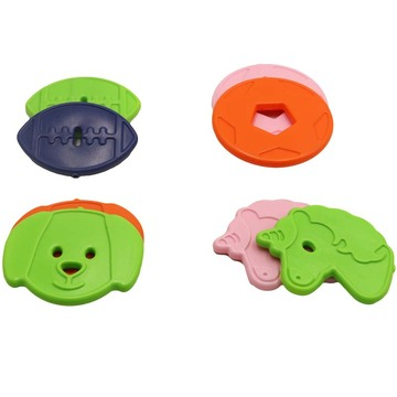Packs de glace forme animale mignon pour sac à lunch